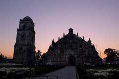 Paoay Church [Explore Front Page] (Meljoe San Diego) Tags: old travel church sunrise fuji philippines explore frontpage paoay x10 ilocosnorte meljoesandiego
