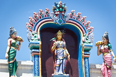 Sri Mariamman Temple, Singapore (john.gillespie) Tags: india temple fire cow singapore worship vishnu god song kali indian prayer goddess divine flame sacred meditation shiva hindu hinduism brahma bhajan