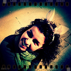 carnival mood (* Patrcia *) Tags: carnival bunny ears carnaval leme iphone orelhas coelhinha iphoneography