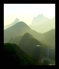 Mountains LineUp (RioParadiso Studio) Tags: city sunset cidade brazil urban panorama sun black mountains green sol nature rio brasil clouds de landscape janeiro view natureza aerial pao aucar sugarloaf floresta florest montanhas silhouet flickrstruereflection1 flickrstruereflection2 flickrstruereflection3 flickrstruereflection4