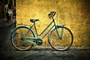Bici azzurra di Lucca (osolev) Tags: italy bike bicycle europa europe italia bicicleta lucca tuscany bici toscana bicyclette velo fahrrad italie textured rower bicicletta osolev magicunicornverybest magicunicornmasterpiece