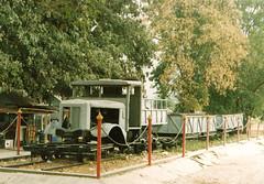 Thailand - Burmay Railway - Rail/road truck (railasia) Tags: show thailand nineties kanchanaburi jir burmarailway metergauge roadrailvehicle