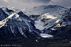 Long View (James Neeley) Tags: mountains landscape banff lakelouise banffnationalpark fairmonthotel canadianrockies jamesneeley flickr24
