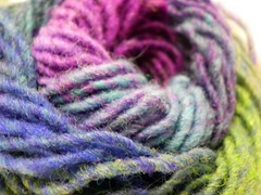 38/366:  Noro Kureyon Macro (MountainEagleCrafter (Catching Up)) Tags: macro yarn day38 picnik norokureyon 2712 366 38366 070212 3652012 2012yip 2012inphotos 365the2012edition project3662012 pjol12 02072012 07feb12