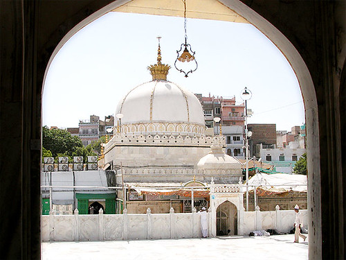 A view of the holy shrine hazrat khawaja garib nawaz ra dargah a view of the holy shrine hazrat khawaja garib nawaz ra dargah ajmer altavistaventures Gallery