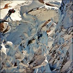 Climbers 2 (Katarina 2353) Tags: travel winter vacation people white mountain snow ski france alps cold film beautiful sport alpes outdoors photography high nikon europa europe flickr view place image extreme peak climbing chamonix francia mont blanc montblanc sunnyday aiguilledumidi evropa alpinista artedescosmiques katarinastefanovic katarina2353
