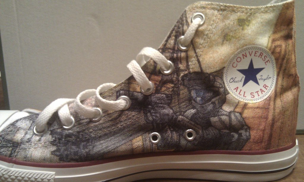 51ed4418424c6b Halo (fallonkeegan) Tags  shoes halo converse sharpie custom sharpies
