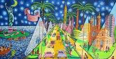 naive painting of new york city ny newyork usa united state (naiveartist) Tags: new york city usa ny newyork art painting israel artwork artist gallery state united soho galerie exhibition galleries exhibitions artists painter rafael naive aus raphael painters israeli peretz     artworks ausstellung perez rafi kaufen malerei  sammler      ausstellungen           kunstsammler