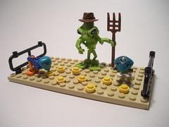 Vignette a day: Space farm (lego27bricks) Tags: day lego farm space vignette vig