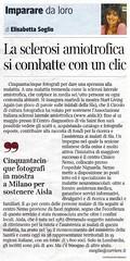 corriere della sera - domenica 11-marzo-2012 (Osvaldo_Zoom) Tags: mostra milano cdi sla circoloculturafotografica