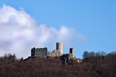 ON TOP (Fabian Gruber) Tags: cloud tower castle ruin wolke ruine mc turm burg hmc oberpfalz wolfstein neumarkt hanimex 72162