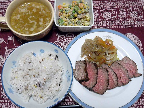 2012年3月9日の晩ご飯