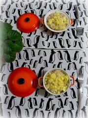 Jantinha gostosa ... (Joana Joaninha) Tags: love amor casamento mesa cozinha janta receita risoto joanajoaninha