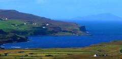 fasach,glendale,duirnish peninsula,isle of skye,scotland. (Bearded iris.) Tags: road nature water landscape scotland village sheep isleofskye glendale cottages reddit lochdunvegan fasach duirnishpeninsula