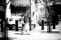 Safeway (Explored) (stephen cosh) Tags: sanfrancisco blackandwhite mono streetphotography bayarea siliconvalley summilux50mm leicam9 stephencosh