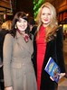 Improbable Frequency opening night. Pictured are Aoibhin Garrihy, right, and Carla Bredin at Rough Magic's Improbable Frequency which opened Thursday and runs at The Gaiety Theatre until March 24. Photo Mark Stedman/Photocall Ireland Buy tickets here e1.ie/2ie