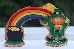 IMG_7828 (m5cake) Tags: glass cookies st day treasure stained hidden patricks shamrocks leprechaun