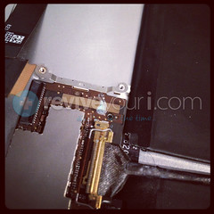 iPad 2 - Water Damage Corrosion (ReviveYouri) Tags: pink blue red orange white black color green broken water silver bag notebook mirror blackberry rice laptop vivid torch repair dell swap damage mirrored kit lcd shattered unlock shatter evo 4g lenovo plating iphone jailbreak htc 9800 unlocked revive ipad digitizer iphone4 iphone3giphone3gs ipad2 iphone4s