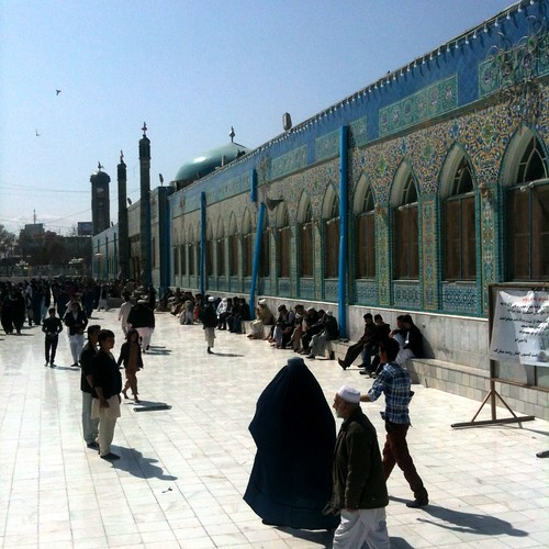 The Shrine of Hazrat Ali, or The Blue Mosque, Mazar-e-sherif