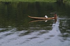 Little fishing boat (- Ariful H Bhuiyan -) Tags: lake water boat pond boatman rangamati kaptai kaptailake