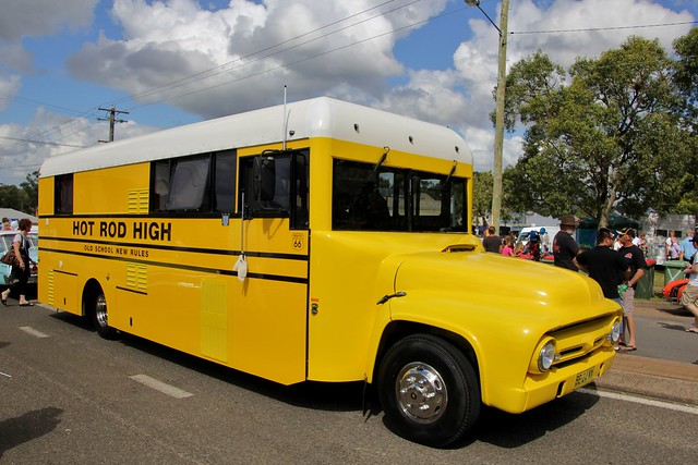 new school bus ford festival wales ranger conversion south nostalgia f swap nsw series 1989 1956 hino motorhome 2012 fd kurri kurrikurri