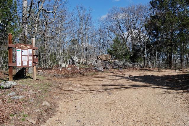 Rock Pile Mountain trailhead