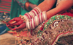 CHUDA (manumint-[BUSY]) Tags: family india groom bride holy una weddingdress henna hindu himachal prayers bangles rituals intricate offerings indianwedding agni mandap auspicious bestwishes chuda sacredfire devbhumi vedicchants