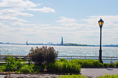 Battery Park (matthewcohen93) Tags: new york city nyc newyorkcity ny abstract water architecture photography nikon exposure day angle manhattan parks landmarks batterypark statueofliberty bowlinggreen nyclandmarks d5000 nikond5000 todaysuploads