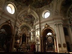 Vienna church interior