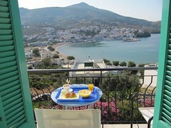 Breakfast in Andros! (OMILO Greek Language and Culture) Tags: island andros courses greeklanguage omilo