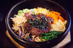 Bulgoki Dolsot Bibim Bap (thewanderingeater) Tags: nyc dinner manhattan tribeca kori koreancuisine korirestaurant