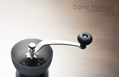 grinder top (Dana C. Manuel) Tags: glass coffee milk cafe shots espresso shotglass coffeegrinder bombon hario
