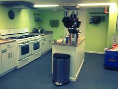 muy buena la cocina del hostel :)