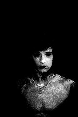 Apparition (Dan Pickering) Tags: blackandwhite bw art dark photography scary spirit ghost horror paranormal unexplained supernatural