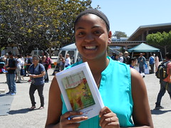 World Book Night Book Recipient @ Chabot College - April 23, 2013 - Hayward, California - 086 (Hayward Public Library) Tags: california reading libraries books literacy thelanguageofflowers cityofhayward 94541 haywardpubliclibrary vanessadiffenbaugh worldbooknight2013