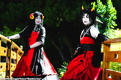 Homestuck Photoshoot - 04.27.2013 (Kimihiro-kun) Tags: california jake cosplay jade cosplayer pomona kanaya aradia homestuck skaiaball