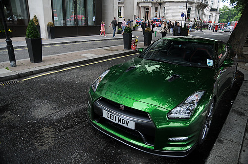Green Nissan GT-R | Explore #385, May 12th 2013