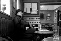 a quiet pint (Broady - Salford art and photography) Tags: life street city uk people urban beer manchester photography living pub north ale documentary alcohol pint boozer drinker broady broadhurst 210314