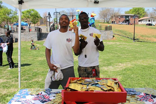 Condom Nation at the Vine City Youth Health Fair