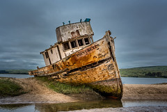 Point Reyes Ship Wreck (Maxinux40k) Tags: ocean california sky usa water clouds spring nikon ship outdoor ngc may shipwreck pointreyes nikkor inverness pointreyesnationalseashore 2016 afs35mmf18ged mitchellcipriano