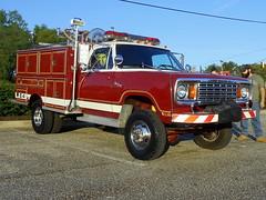 1978 Dodge W-400 Custom Seagrave Mini-Pumper (splattergraphics) Tags: 4x4 firetruck dodge fireengine 1978 mopar seagrave cruisenight glenburniemd lostinthe50s marleystationmall w400 minipumper