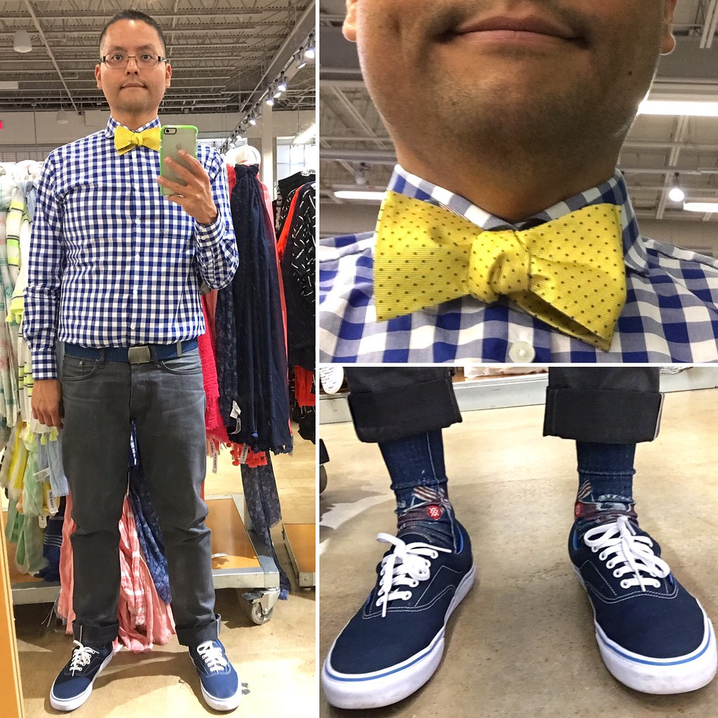 860f5933ec1323 Outfit 20160522 (Freddie Avalos) Tags  socks outfit shoes bowtie clothes  vans gustinjeans