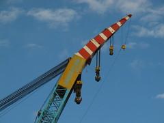 Saipem 7000 crane vessel hoisting hook (juliank1990) Tags: ship crane offshore vessel gas maritime maintenance oil hook hooks 7000 eemshaven hoisting saipem sscv