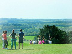 ' From here you can right across to the woods and villages  beyond ' (John(cardwellpix)) Tags: from uk corner out sunday may surrey hills views guildford across 8th newlands albury 2016 merrow