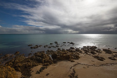 PortPhillip Bay storm clouds (Thunder1203) Tags: longexposure beach daylight sand exposure slowshutter morningtonpeninsula portphillipbay ndfilter hoyafilters canoneos7d thunder1203