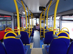GAL SE291 - YX16OCW - INTERIOR - BV BUS GARAGE - FRI 29TH APR 2016 D (Bexleybus) Tags: bus london ahead interior garage go 200 belvedere dennis mmc bv enviro adl goahead se291 yx16ocw