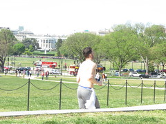 IMG_0673 (FOTOSinDC) Tags: shirtless man hot men back candid running sweaty sweat shorts jogging runner jogger
