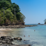 Beach on Coiba, Panama thumbnail