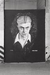 Bowie street art, Birmingham, UK (benpadley) Tags: streetart bowie fuji grafiti xt10