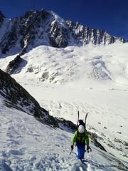 Day 1: Col du Chardonnet (Erik.G.) Tags: zermatt chamonix skitouring skitour hauteroute valsorey plateauducouloir